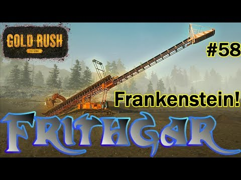 Let's Play Gold Rush The Game #58: Frankenstein!