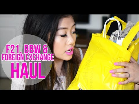 Forever 21, BBW & Foreign Exchange HAUL thumbnail