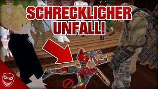Der schreckliche Unfall im VRChat Spiel! - Ich werde es nie wieder spielen!