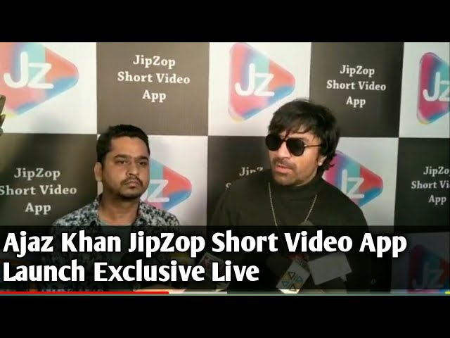 Actor Ajaz Khan JipZop Short Video App || Video Shoot || TIK TOK के बाद नया ऐप VIRAL