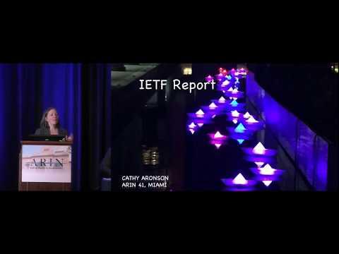 Internet Engineering Task Force Report