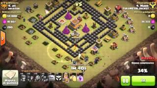 Clash of clans - GO.WI.PE. 100 %