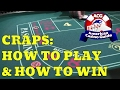 $25 TABLE Try to win at craps strategy - GO BIG by Ryan ...