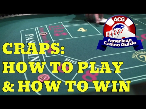 Craps: How To Play And How To Win - Part 1 - With Casino Gambling Expert Steve Bourie