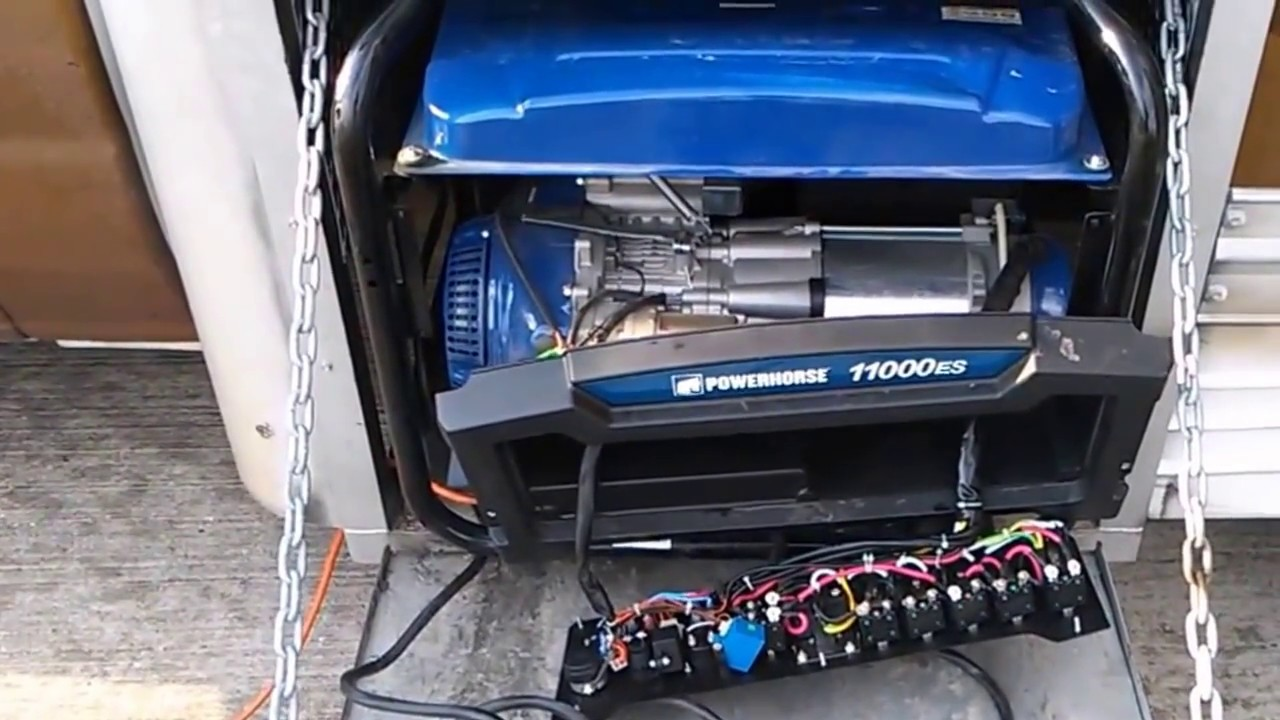 How To Bypass A Circuit Breaker On Generator Powerhorse 11000 Keep Tripping Breakers Work Watts Electric Start