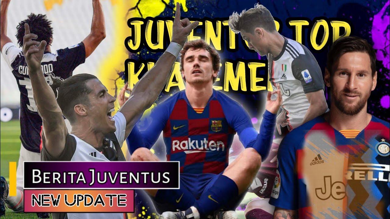 CR7 terlahir HEBAT💪Griezmann bertapa ke Juve Messi ke Inter🤔Sarri perlu dukungan😞BERITA JUVENTUS 🔴