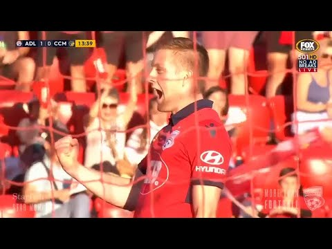 #AUFCArchives | 26/12/2017 | Ryan Kitto Finishes Free Flowing Move