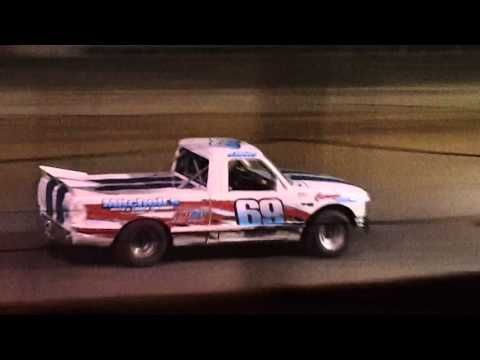 3-12-2016 Truck feature at Georgetown Speedway