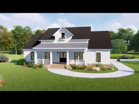 MODERN FARMHOUSE HOUSE PLAN 348-00281