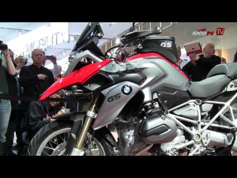 NEW BMW R 1200GS Interview & Details 2013 - Intermot 2012
