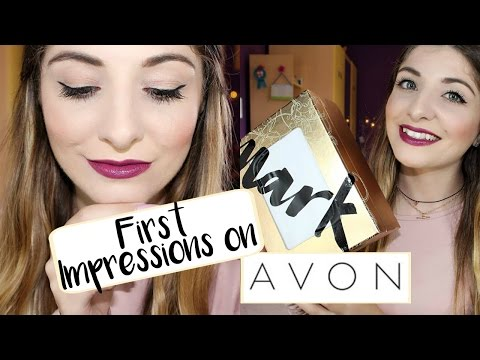 FIRST IMPRESSIONS DEMO: AVON MAKEUP - NEW MARK COLLECTION