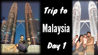 Trip to Malaysia - Day 1 II Petronas Twin Tower Malaysia World's Tallest Twin Tower Kaula Lampur