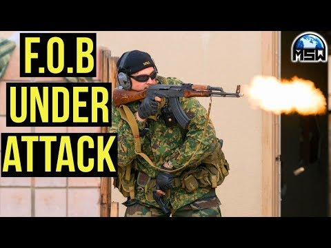 Milsim West The Kazakh Revolution | F.O.B Under Attack (G&G GPM92 Gas Blow Back Handgun) Part 2