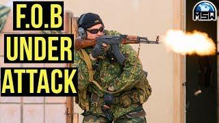 Milsim West The Kazakh Revolution | F.O.B Under Attack (G&G GPM92 Gas Blow Back Handgun) Part 2