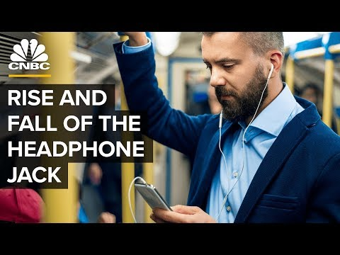 The Rise And Fall Of The Headphone Jack