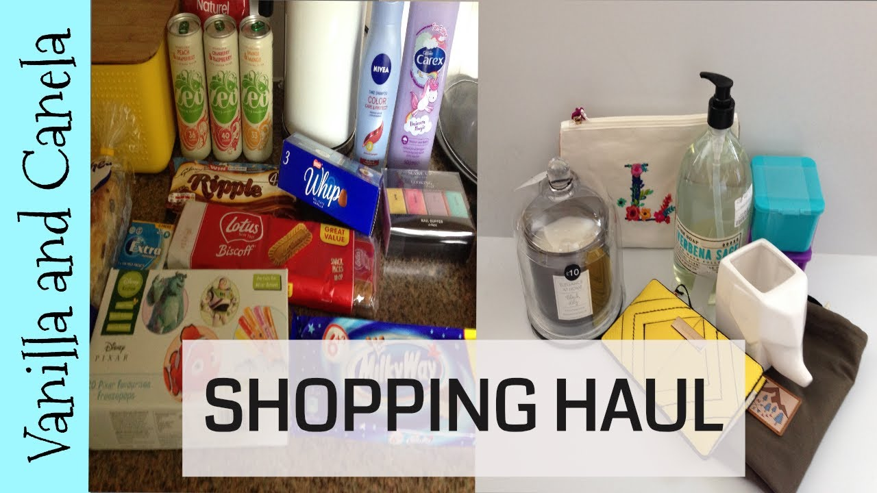 Poundland/TKMaxx/Matalan/River Island Shopping Hauls - May 2018