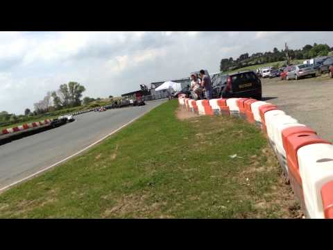 rednal kart track 18/05/2014 junior final