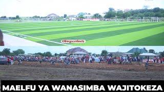 Mamia Kwa Mamia Wajitokeza Kuzindua Uwanja wa Kimataifa wa Simba/Uzinduzi wa Uwanja w  a Simba Bunju