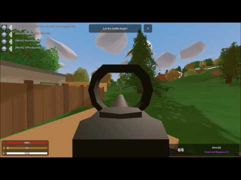 Unturned PvP (This recording be hip)