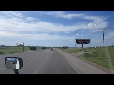 Looking for the Port of Entry near Gillette, Wyoming! Highway 59 North  June 10, 2016