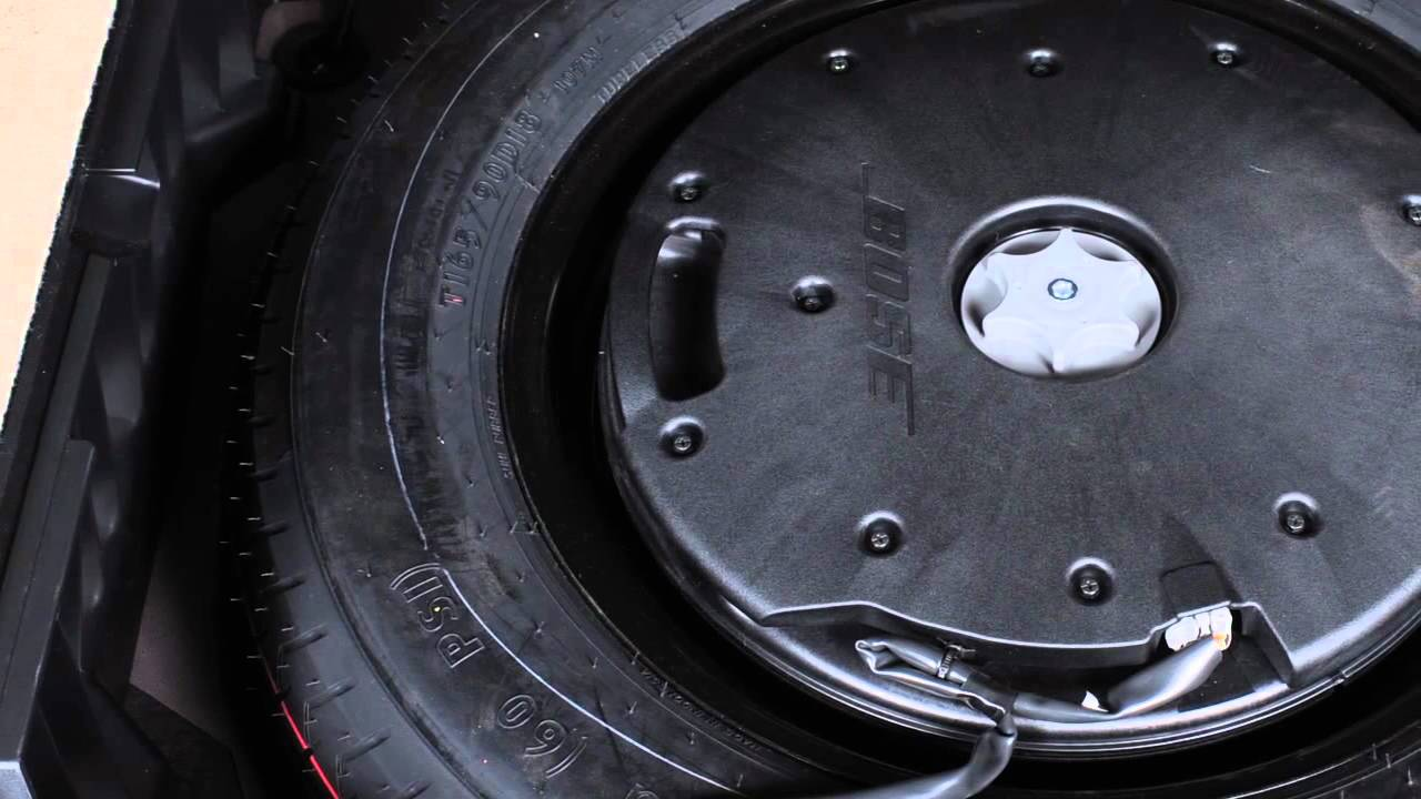 2013 Nissan Murano Spare Tire And Tools Hardtop Models Only