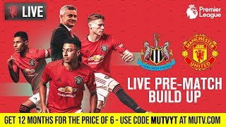 Manchester United V Newcastle - Mutv Pre-match Build Up 15:00 Bst   Half Price Subscription Offer