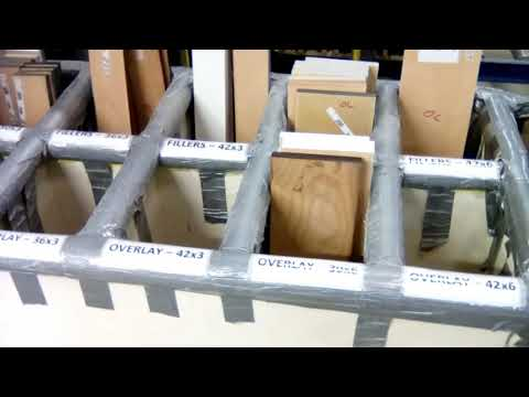 Stain Dept    Organizing An Unloading Bin