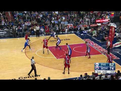 Philadelphia 76ers vs Washington Wizards | January 14, 2017 | NBA 2016-17 Season