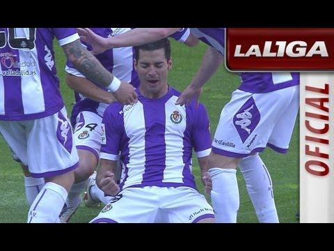 Resumen de Real Valladolid (1-0) Deportivo de La Coruña - HD - Highlights