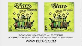 Weed Smokers Riddim Medley by 13 Starz | I-Octane, Vybz Kartel Remix March 2013
