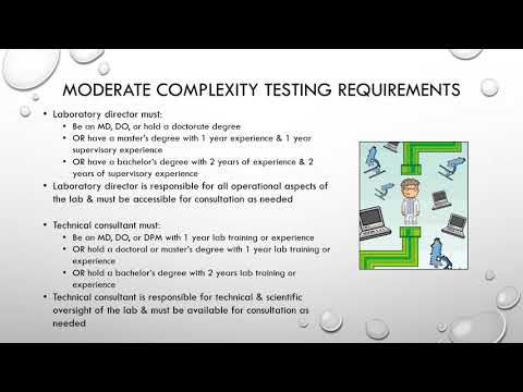 Lecture 7:  Clinical Laboratory Organization