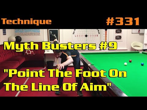 """Myth Busters #9: """"Point The Foot On The Line Of Aim"""""""