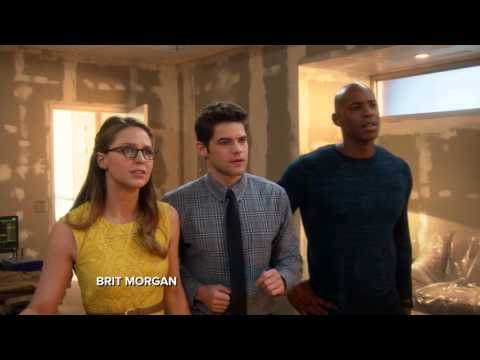 Barry Allen the Flash Explains Multiverse to Supergirl with Ice Cream Delivery