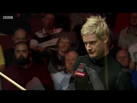 Neil Robertson THUNDERS at the Crucible (2014 WSC Highlights)