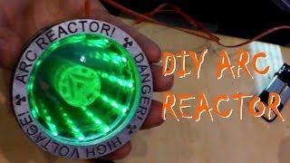 Делаем нагрудный реактор железного человека | Iron Man ARC
