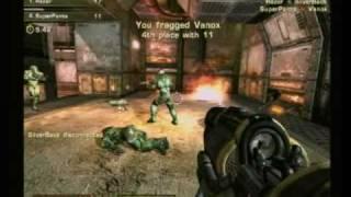 Quake 4 multiplayer gameplay