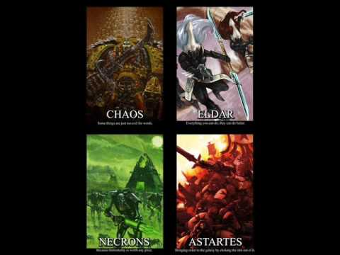 funny and mad warhammer40k pics - YouTube