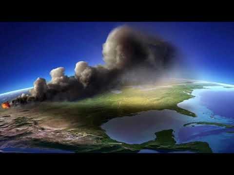 Yellowstone eruption world into volcanic winter