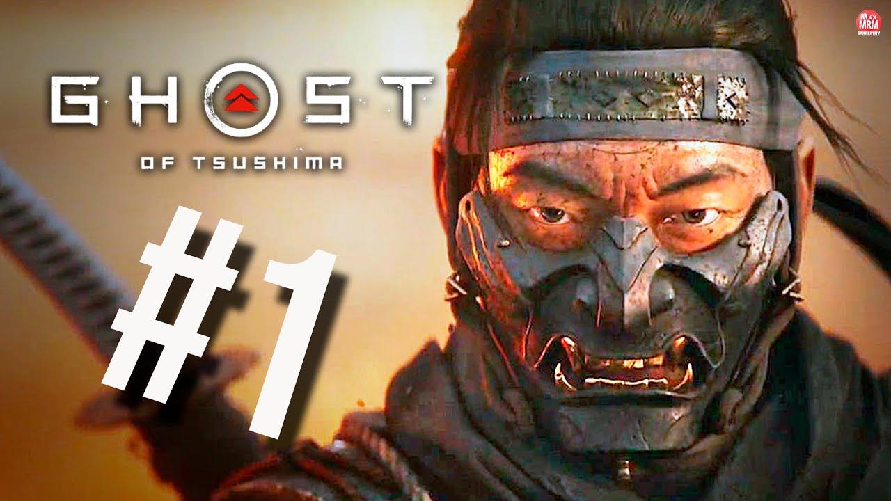 GHOST OF TSUSHIMA - O INÍCIO DE GAMEPLAY, em Português | 4k no PS4 Pro