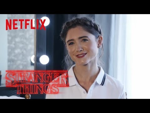 Stranger Things 2 [UHD] | Interview Natalia Dyer (Nancy)| Netflix
