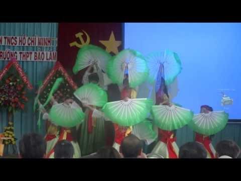 [a2TV.130922] Múa ĐẤT NƯỚC LỜI RU @ Đại hội Đoàn trường THPT Bảo Lâm 2013/2014