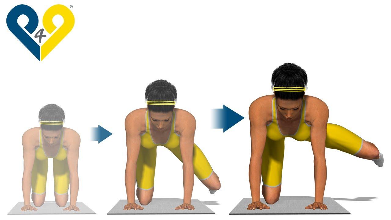 Os melhores exercícios para glúteos: Lançamento lateral ...
