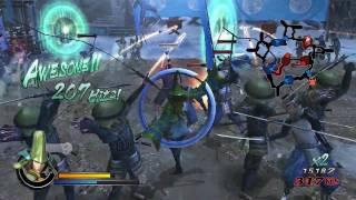 戰國BASARA 3-毛利元就遊玩影片(英文版)-PS3-Wii-巴哈姆特GNN.