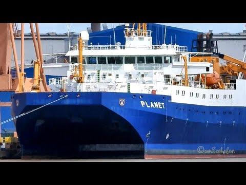 Marine Forschungsschiff PLANET Emden DRLA IMO 9245732 military research & survey ship