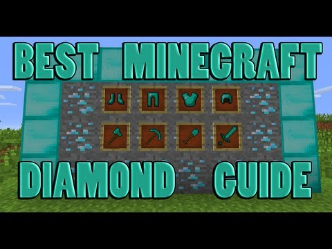(1.7) The Best Way To Find Diamonds In Minecraft!!! Chunk Branch Mining!