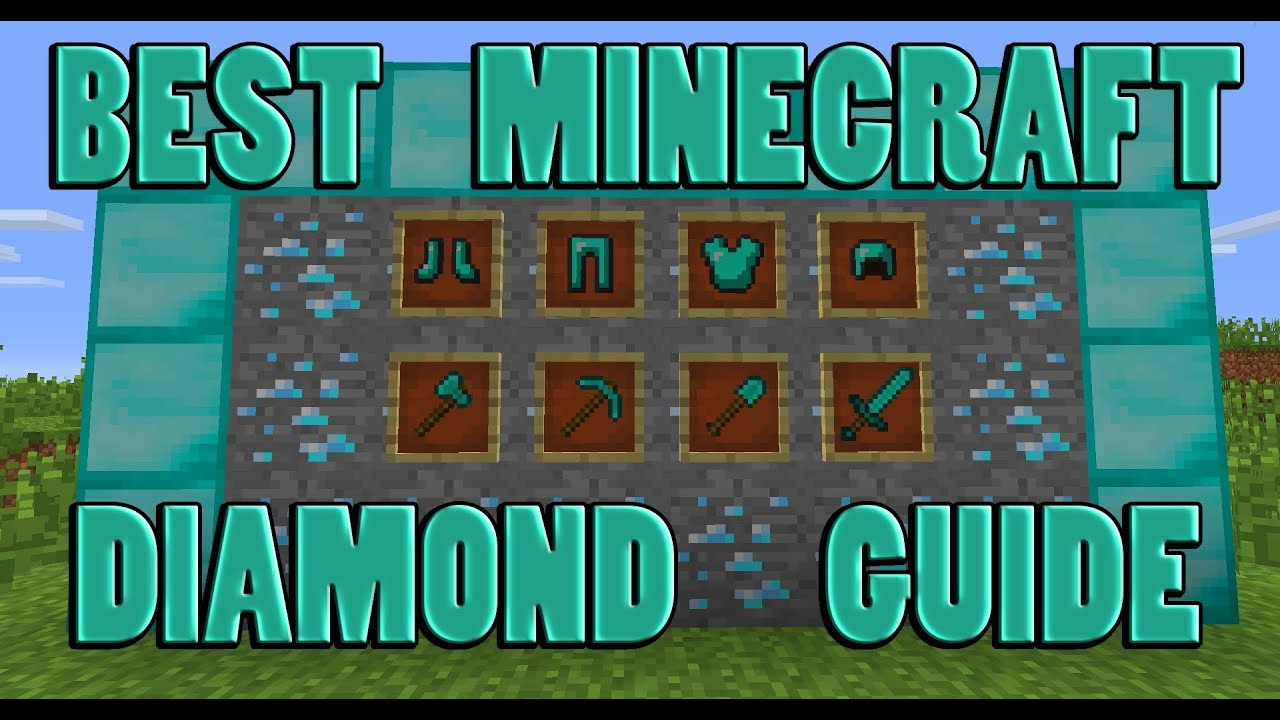 (1.7) The Best Way To Find Diamonds In Minecraft!!! Chunk ...