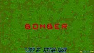 Bomber gameplay (PC Game, 1993)