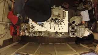 Honda CB72 CB77 Engine strip