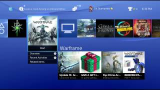 streaming ps4 warframe stream ended 121014