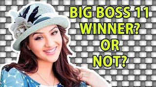Will Shilpa Shinde WIN Bigg Boss 11?